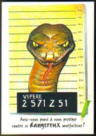 "Carte Postale ""Cart'Com"" - Série Sida, Santé - + Aspivenin (pharmacie) - Vipère - Health"