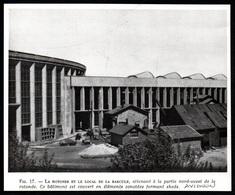 1947  --  AVIGNON  LA ROTONDE ET LE LOCAL DE LA BASCULE   3Q435 - Non Classés