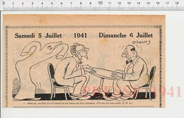 2 Scans Humour De 1941 Médium Spiritisme Table Qui Bouge Cors Aux Pieds Thème Pédicure Fantôme 223XS - Non Classés