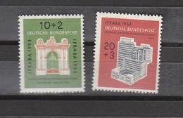 Deutschland BRD **  171-172 IFRABA Frankfurt Katalog 50,00 - Unused Stamps