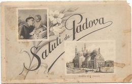 W574 Saluti Da Padova - Basilica Di Sant'Antonio - Multipla / Viaggiata 1931 - Padova