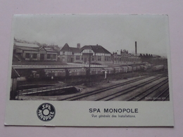 SPA MONOPOLE Vue Générale Des Installations ( Photo DECOUX Spa ) > Anno 19?? ( Voir / Zie Photo ) ! - Spa