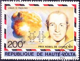 Obervolta Upper Haute - Nobelpreis L. Pauling 1954 (Mi.Nr.: 867) 1977 - Gest Used Obl - Haute-Volta (1958-1984)