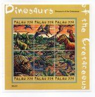 Palau - 2000 - Foglietto Tematica Animali Preistorici - 6 Valori - Nuovo - Vedi Foto - (FDC13791) - Palau