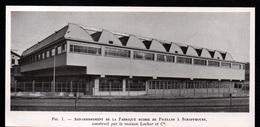 1947  --  AGRANDISSEMENT DE LA FABRIQUE SUISSE DE FICELLES A SCHAFFHOUSE   3Q437 - Non Classés
