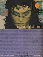 TARJETA FUNCIONAL DE ALEMANIA. OPEN PLATFORM  PURPLE AT90(P1), OPPL-001. TELEVISION, 032. - Otras Colecciones
