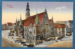 BRESLAU BRESLAVIA RATHAUS UNUSED - Polonia