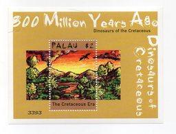 Palau - 2000 - Foglietto Tematica Animali Preistorici - 1 Valore - Nuovo - Vedi Foto - (FDC13792) - Palau