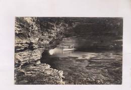 CPA PHOTO BONIFACIO, LES GROTTES En 1939! - Autres Communes