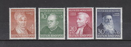 Deutschland BRD **  156-159 Wohlfahrt 1952 Katalog 120,00 - [7] République Fédérale
