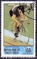 Obervolta Upper Haute - Olympiade Moskau Bahnradsport (Mi.Nr.: 796) 1980 - Gest Used Obl - Haute-Volta (1958-1984)