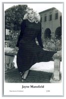 JAYNE MANSFILED - Film Star Pin Up PHOTO POSTCARD - 2-60 Swiftsure Postcard - Künstler