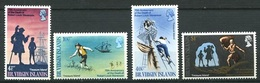 British Virgin Islands - 1969, R.L. Stevenson - Mi. 194/97 - Yv. 196/99 Serie Cpl. 4v. Nuovi** Perfetti - British Virgin Islands