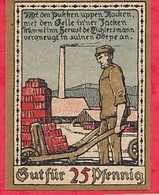 Allemagne 1 Notgeld  25 Pfenning Lagge I Lippe  Lot °3072 - Colecciones