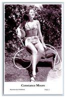 CONSTANCE MOORE - Film Star Pin Up PHOTO POSTCARD - P468-1 Swiftsure Postcard - Künstler