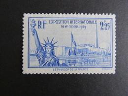 59)   Timbre N° 426  Neuf ** Sans Charnière --- Cote : 20,00 € - France