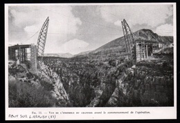 1947  --  PONT SUR L ARTUBY EN CONSTRUCTION   3Q438 - Vieux Papiers