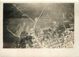 Photo Aerienne Ancienne De VERZY (51 Marne) - Vers 1920/1930 ? WW1 Entre 2 Guerres - Rare - War, Military