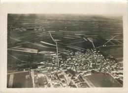 Photo Aerienne Ancienne De BOUZY Er AMBONNAY (51 Marne) - Vers 1920/1930 ? WW1 Entre 2 Guerres - Rare - War, Military