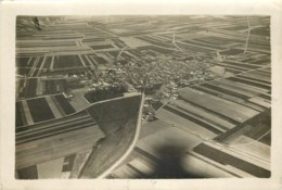 Photo Aerienne Ancienne De AMBONNAY (51 Marne) - Vers 1920/1930 ? WW1 Entre 2 Guerres - Rare - War, Military