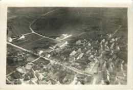 Photo Aerienne Ancienne De TREPAIL (51 Marne) - Vers 1920/1930 ? WW1 Entre 2 Guerres - Rare 2 - War, Military