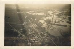 Photo Aerienne Ancienne De JALONS LES VIGNES (51 Marne) - Vers 1920/1930 ? WW1 Entre 2 Guerres - Rare - Guerra, Militari