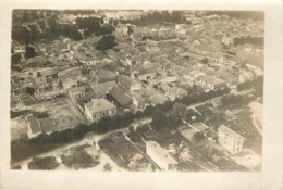 Photo Aerienne Ancienne De SUIPPES (51 Marne) - Vers 1920/1930 ? WW1 Entre 2 Guerres - Rare - War, Military