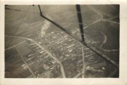 Photo Aerienne Ancienne De LIVRY SUR VESLES (51 Marne) - Vers 1920/1930 ? WW1 Entre 2 Guerres - Rare - War, Military