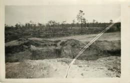 Photo Ancienne Des Ruines De SOUAIN (51 Marne) - Vers 1920/1930 ? WW1 Entre 2 Guerres - Rare - War, Military
