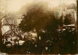 Photo Ancienne 11 X 8 Cm - Blois ? - Vers 1900 - Places