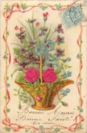 Belle Carte Gaufree - Flowers, Plants & Trees