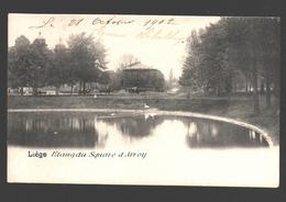 Liège - Etang Du Square D'Avroy - Dos Simple - 1902 - Liege