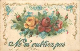 Belle Carte Gaufree - Flores, Plantas & Arboles