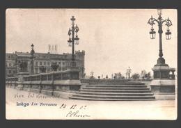 Liège - Les Terrasses - Dos Simple - 1902 - Liege
