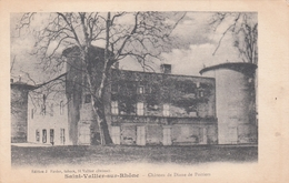 SAINT VALLIER Sur RHONE  Château De Diane De Poitiers - France