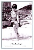 CLAUDINE AUGER - Film Star Pin Up PHOTO POSTCARD - P717-1 Swiftsure Postcard - Künstler