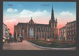 Liège - La Cathédrale - Colorisée - 1914 - éd. Guggenheim & Co - Liege