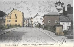 Laroche NA18: Vue De Face Du Nouveau Pont 1906 - La-Roche-en-Ardenne