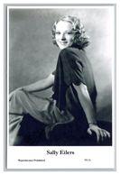 SALLY EILERS - Film Star Pin Up PHOTO POSTCARD - 99-6 Swiftsure Postcard - Künstler