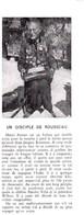 1946 Mario Ferrari,un Disciple De Rousseau Célèbre Pour Sa Marche à Pied,680.000 Km, Et Usé 700 Paires De Chaussures.. - Non Classés