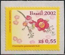 BRAZIL - FLOWERS OF THE AMAZON: COUROUPITA GUIANENSIS 2002 - MNH - Pflanzen Und Botanik
