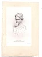 """Eau-forte: """"TETE DE CIRE"""" Par Gazette Des Beaux-Arts - Engravings"""