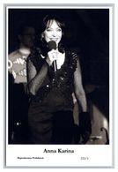 ANNA KARINA - Film Star Pin Up PHOTO POSTCARD - 222-3 Swiftsure Postcard - Künstler