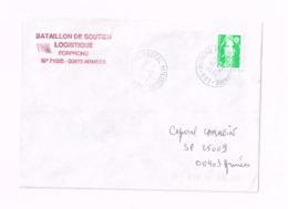 """Lettre """"Bureau Postal Militaire 651"""" (Dubrovnik/CRoatie) Expédié Au SP 25009. - Marcophilie (Lettres)"""