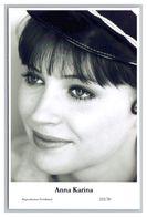 ANNA KARINA - Film Star Pin Up PHOTO POSTCARD - 222-20 Swiftsure Postcard - Künstler