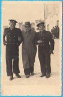 YUGOSLAVIA KINGDOM NAVY ( Trogir ) - Original Vintage Photo * Marine Marina Serbia Croatia Montenegro Jugoslawien - War, Military