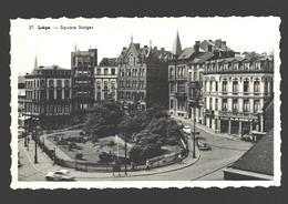 Liège - Square Notger - Carte Photo Glacée - éd. Malmedy - Liege