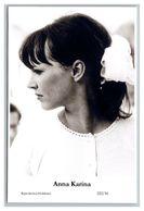 ANNA KARINA - Film Star Pin Up PHOTO POSTCARD - 222-16 Swiftsure Postcard - Künstler