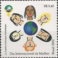 BRAZIL - INTERNATIONAL WOMEN'S DAY 2002 - MNH - Brazil