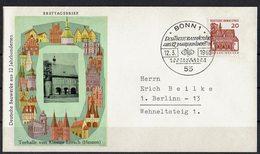 BRD 1964 // Mi. 456 FDC (033..370) - BRD